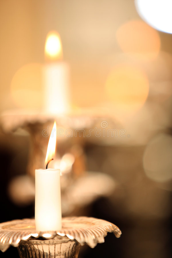 Free Candles Abstraction (soft Focus) Royalty Free Stock Photo - 8469645