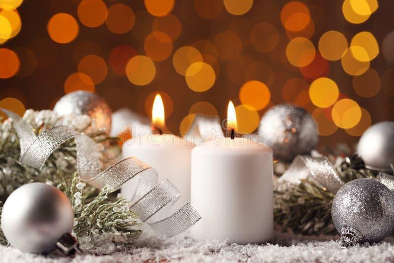 candles christmas στοκ εικόνες με δικαίωμα ελεύθερης χρήσης