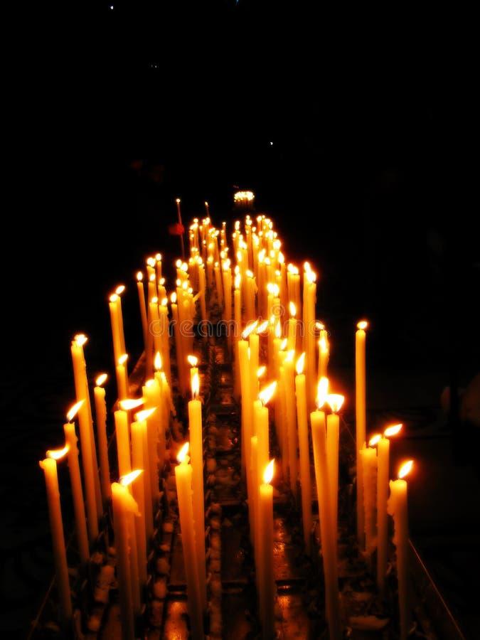 candles colorful fotografering för bildbyråer