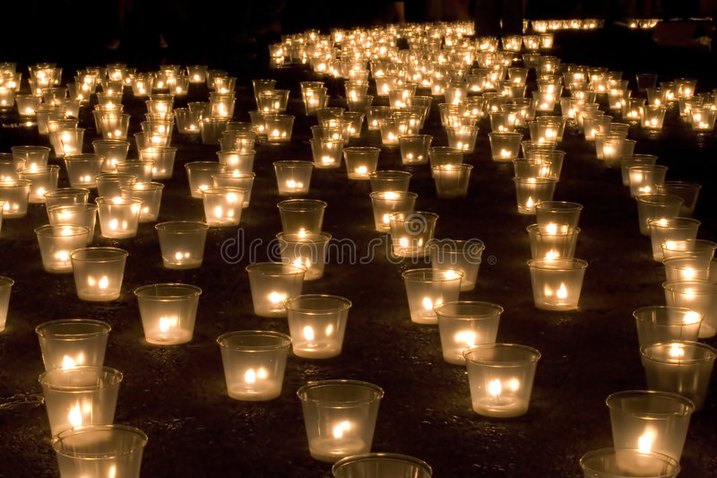 Download Candles in the dark stock photo. Image of love, lovers - 1045292