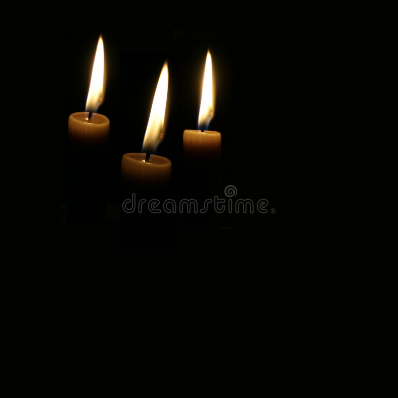 Candles Of Hope Royalty Free Stock Photos