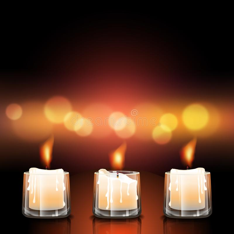 Free Candles In Glasses Royalty Free Stock Image - 100439236
