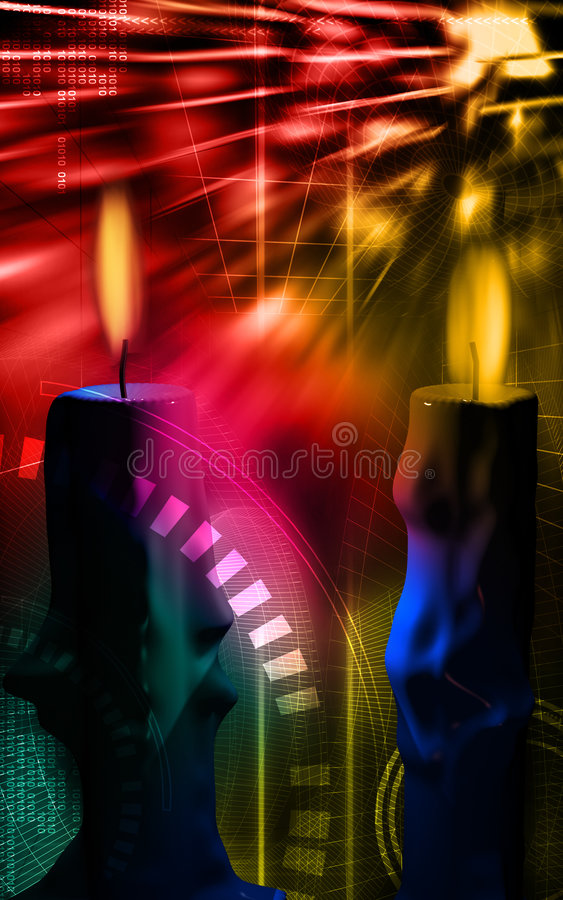 Download Candles And Lighting Royalty Free Stock Photos - Image: 7583518