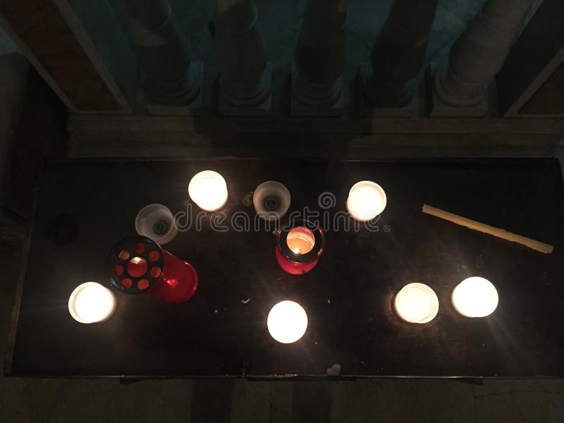 Download Candles stock image. Image of candles, nobody, many, church - 83711799