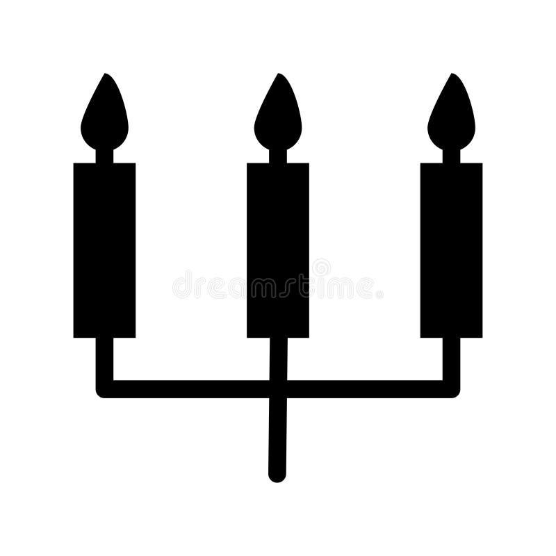 Candles o ícone ilustração do vetor