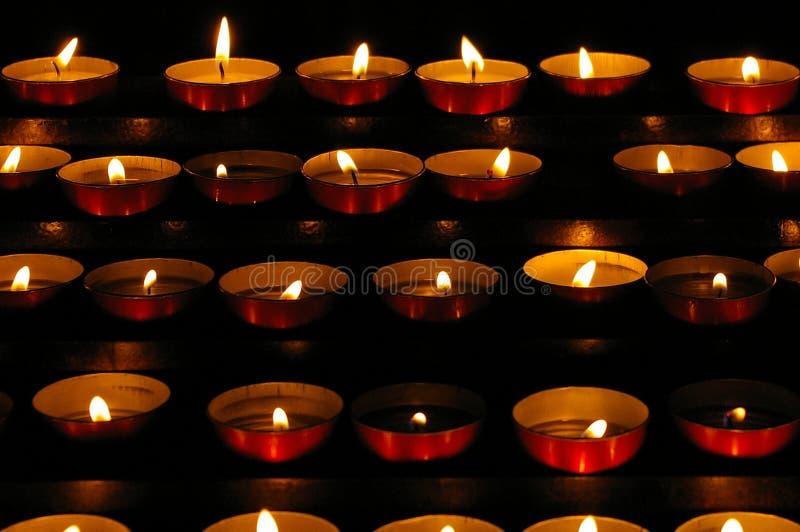 candles small στοκ φωτογραφία
