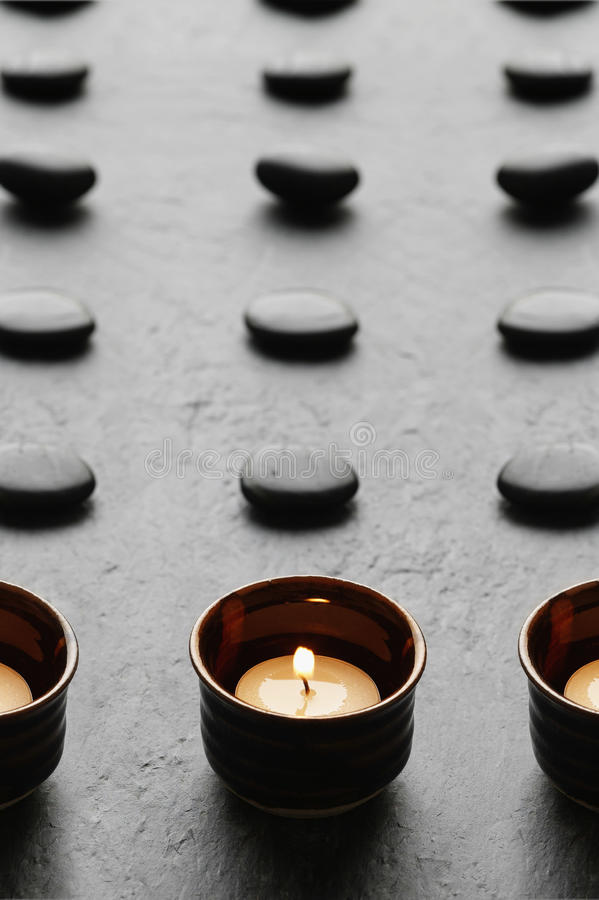 Candles and in spa