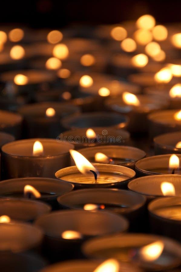 candles spa στοκ εικόνες