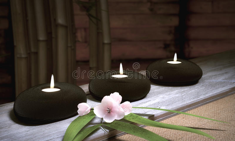 Download Candles stock illustration. Illustration of rendering - 40515656