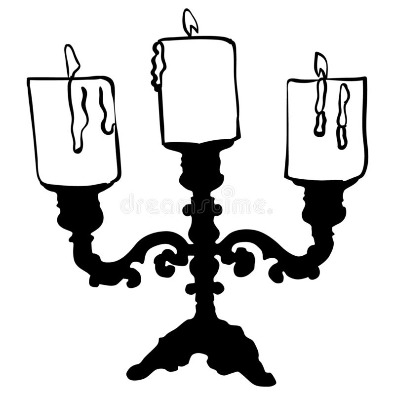 Candles vector eps Hand drawn Crafteroks svg free, free svg file, eps, dxf, vector, logo, silhouette, icon, instant download, digi. Candles vector eps, Hand royalty free illustration
