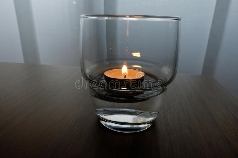 Candles for a warm illumination royalty free stock photos