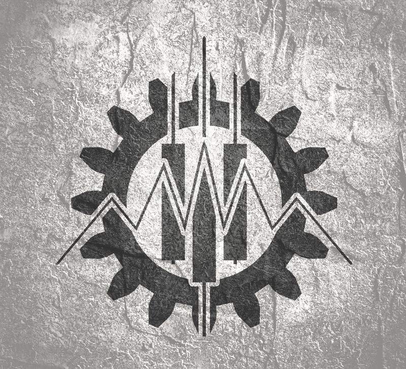 Abstract trading emblem stock illustration