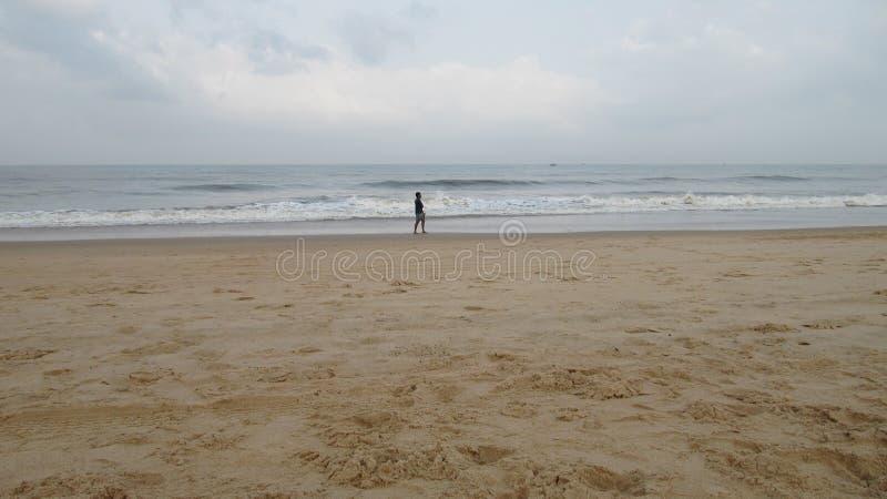 Candolim plaża Goa zdjęcie royalty free