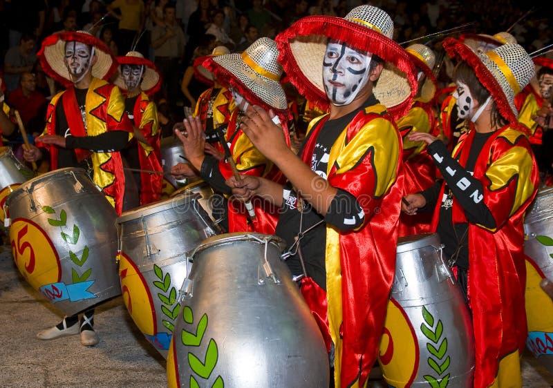 candombe arkivbild