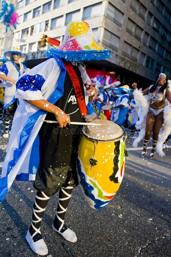 candombe royaltyfri bild