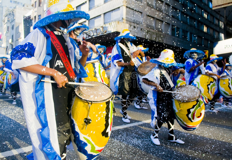 candombe arkivfoto