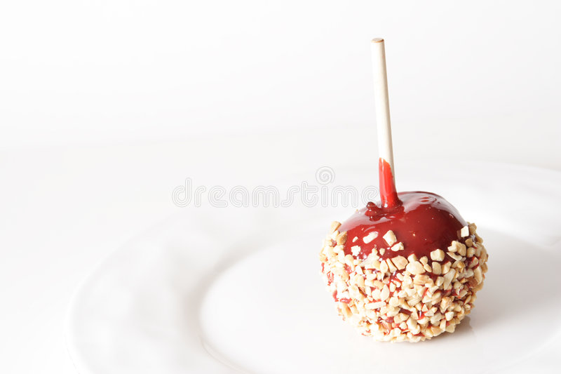 Candy Apple Royalty Free Stock Photo