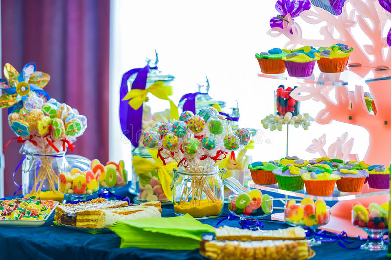 Candy bar diversified stock images