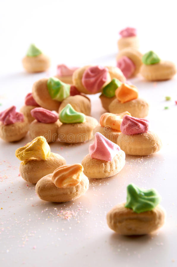 Candy Biscuit Stock Image