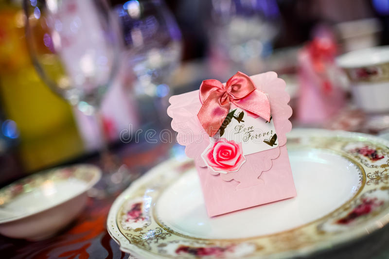 Download Candy Box At Wedding Royalty Free Stock Photography - Image: 29794277