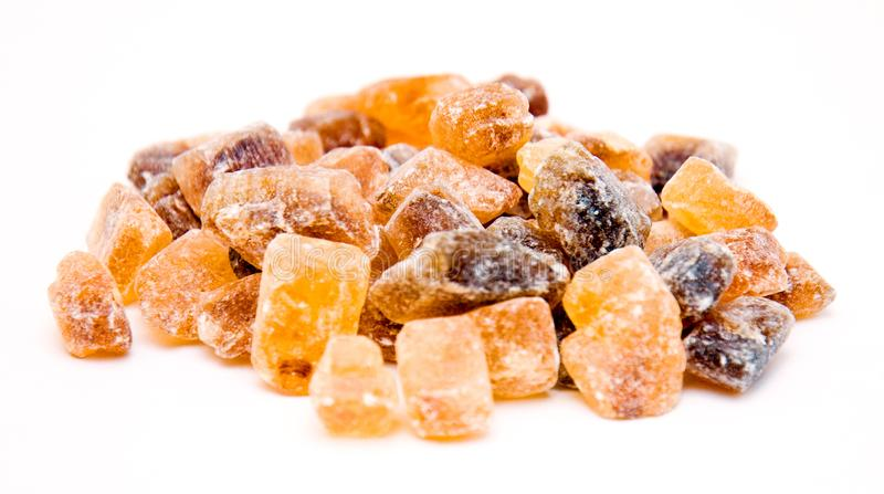 Candy brown sugar stock photography