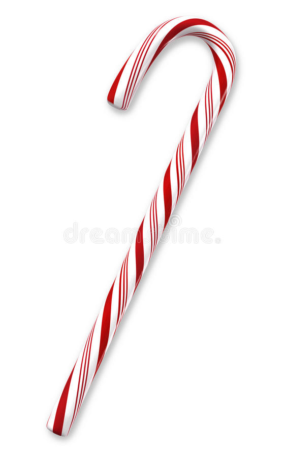 Candy cane stock illustration