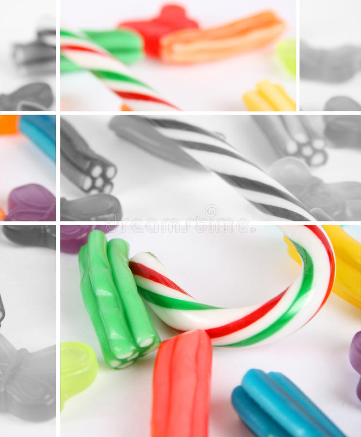Candy Cane stock images