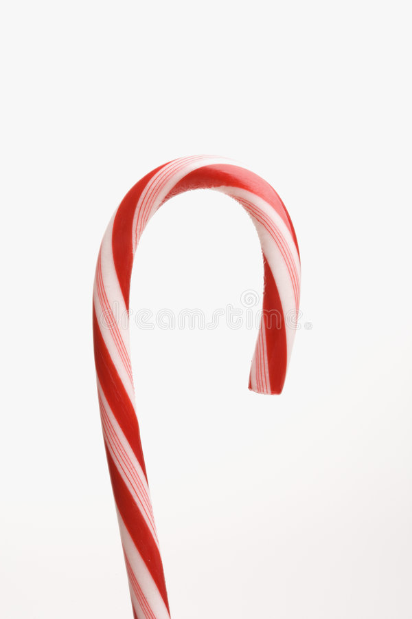 Candy cane. Still life of candy cane stock photo