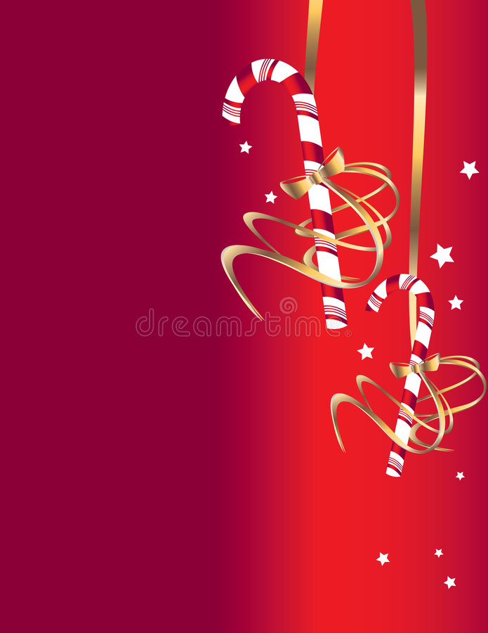 Download Candy cane background 2 stock vector. Illustration of golden - 8890264