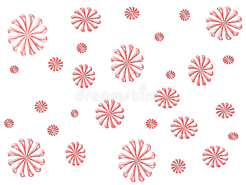 Candy Cane Design royalty free illustration