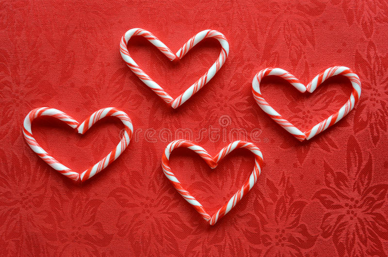 Download Candy Cane Hearts Royalty Free Stock Photo - Image: 28209335