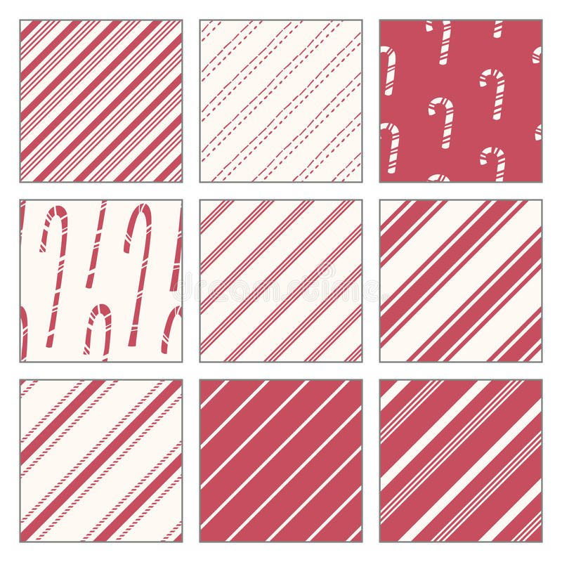 Download Candy Cane Patterns stock photo. Image of peppermint - 32536412