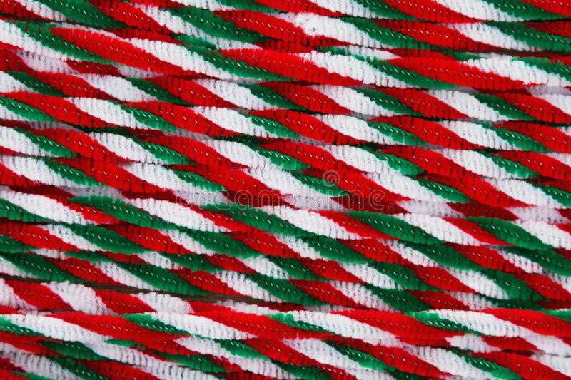 Candy cane pipes Christmas background royalty free stock photography