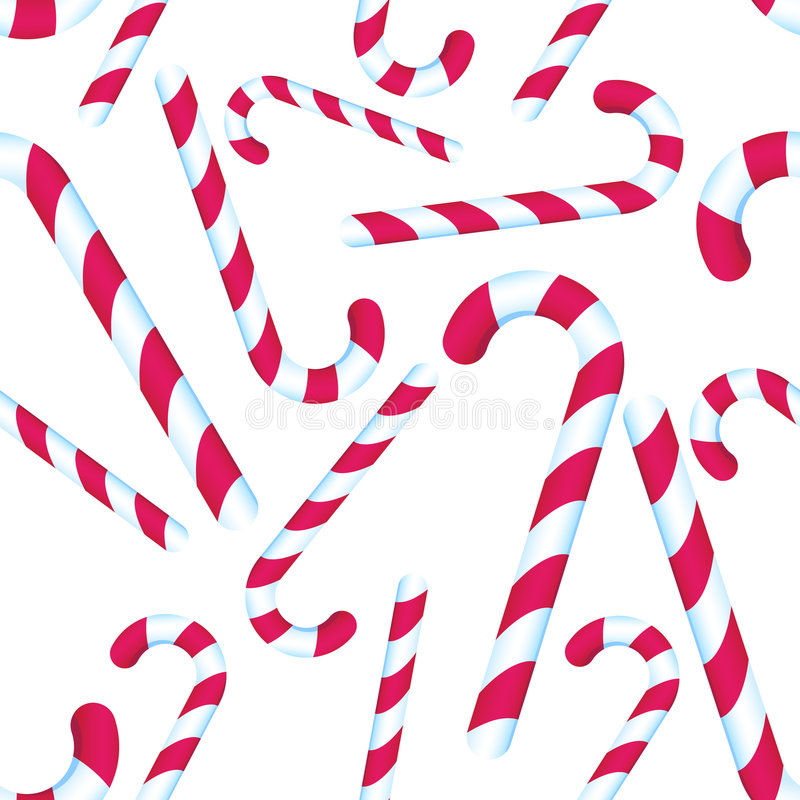 Download Candy Cane Repeating Pattern Stock Vector - Illustration of christmas, pattern: 9299217