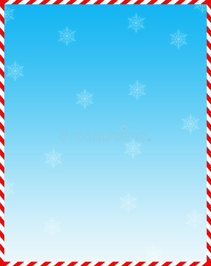 Candy Cane Web Background Stock Image