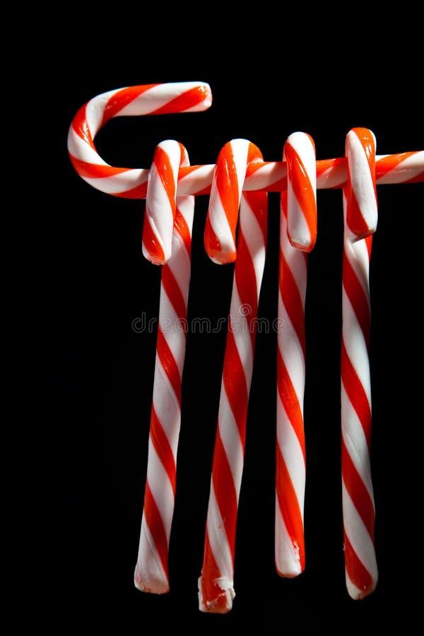 Candy canes stock photos