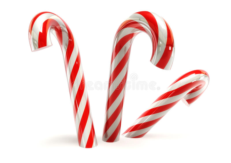 Download Candy canes stock illustration. Image of mountain, colorful - 23314493
