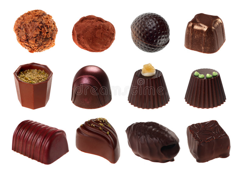 Candy chocolate stock photography
