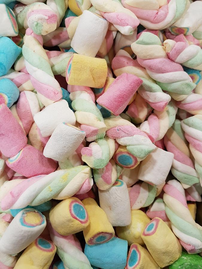 Candy clouds. Of many colors for children stock images