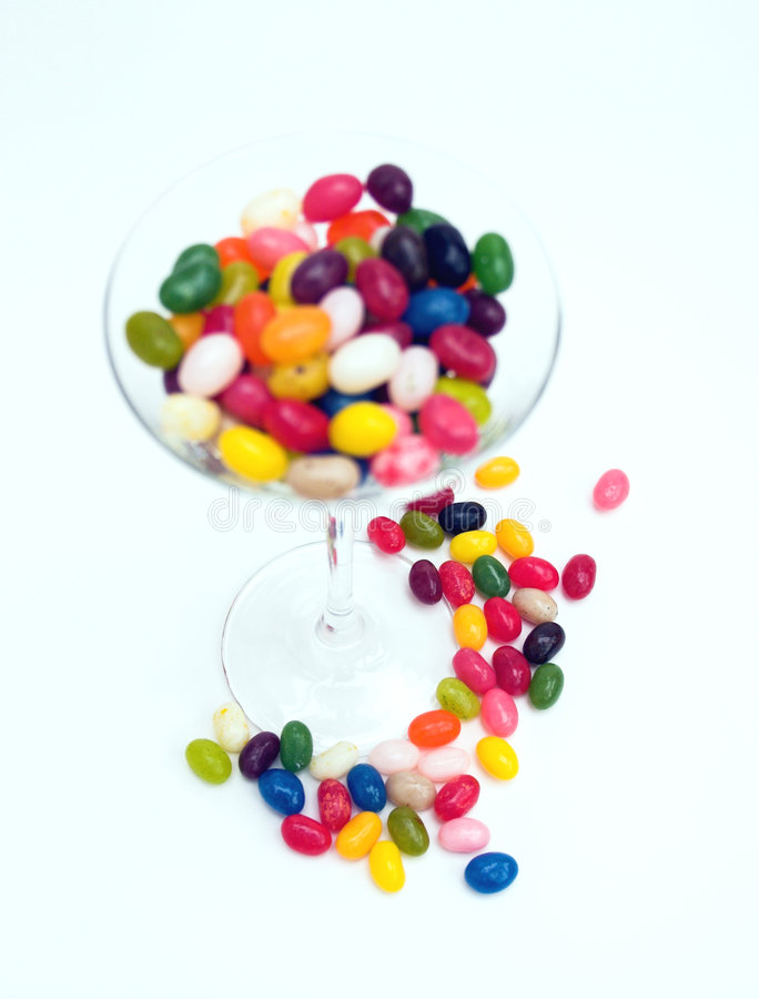 Candy cocktail... royalty free stock images