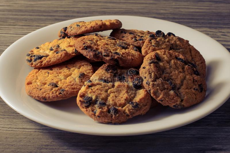 Candy cookies baked bakery homemade holiday fresh healthy eating diet weight loss unhealthy concept. Side profile close up view ph stock photography
