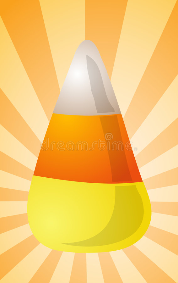 Download Candy corn illustration stock illustration. Image of clip - 7540950
