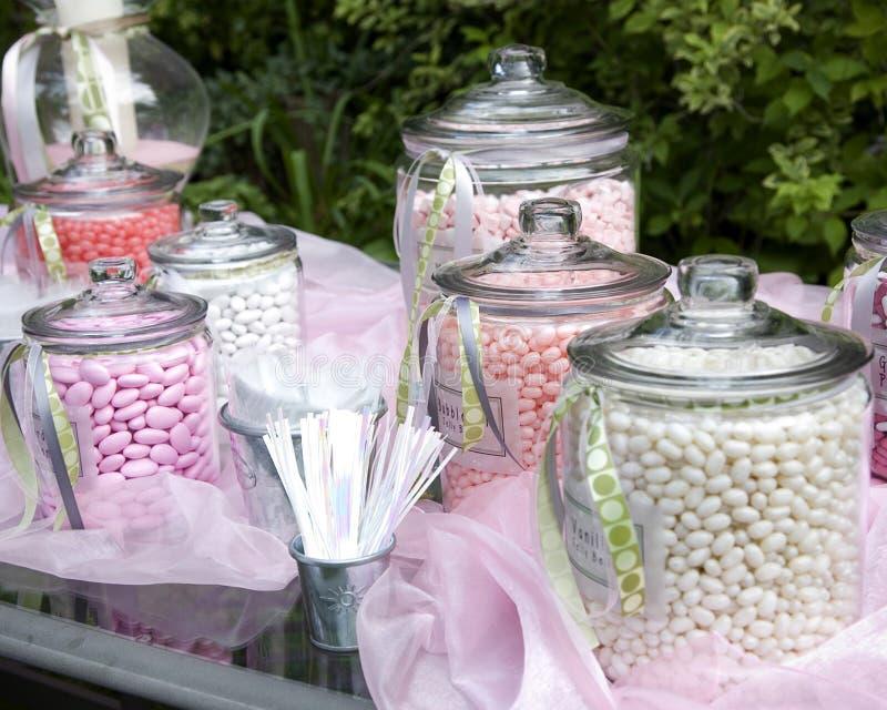 Candy display stock photos