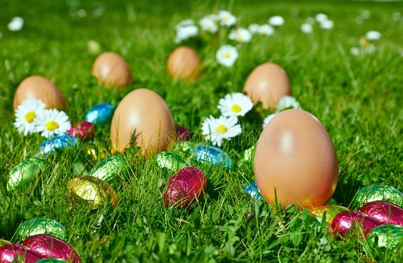 Download Candy Easter eggs stock image. Image of shot, nobody - 29427455