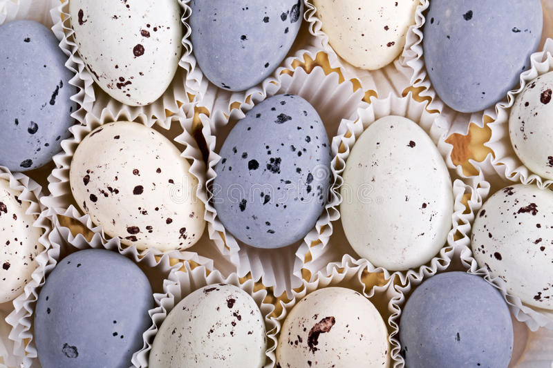 Candy eggs royalty free stock images