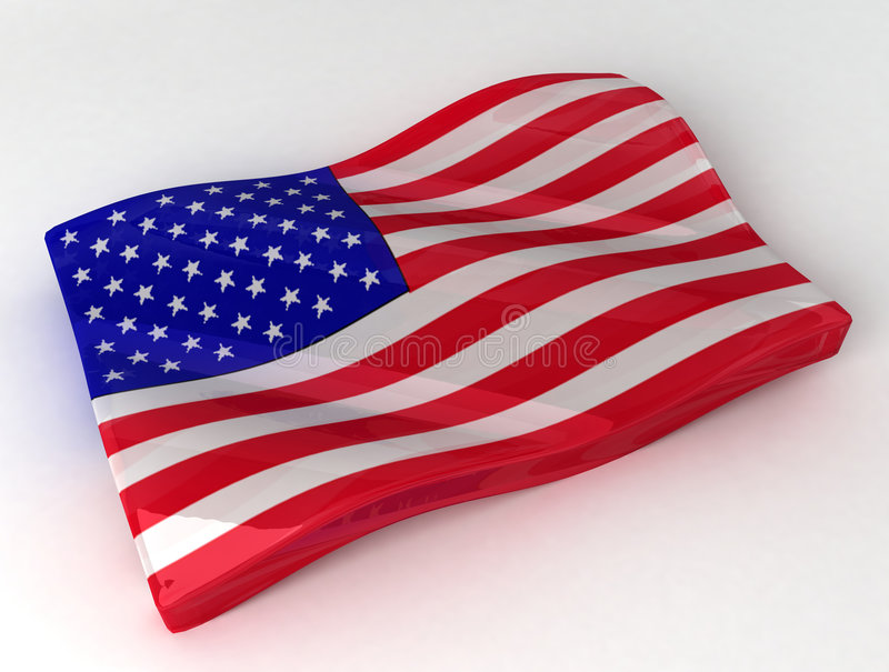 Download Candy In The Form Of American Flag Stock Illustration - Image: 5497819