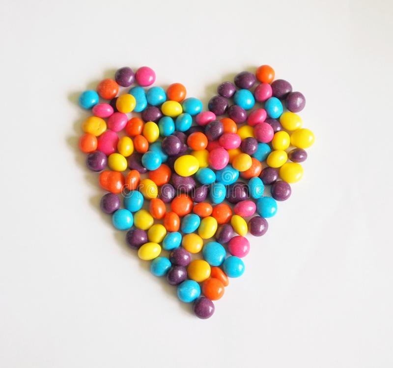 Candy-heart royalty free stock photos