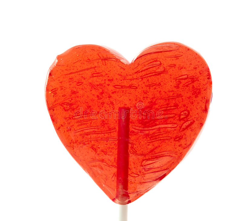 Download Candy heart on a stick stock photo. Image of image, large - 18092082