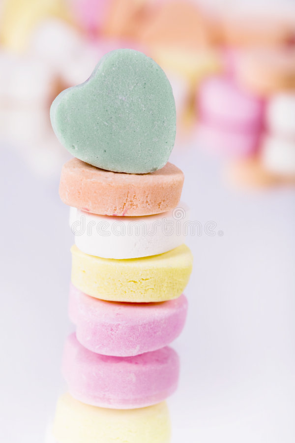Download Candy Hearts stock image. Image of lover, sugar, calories - 2026051