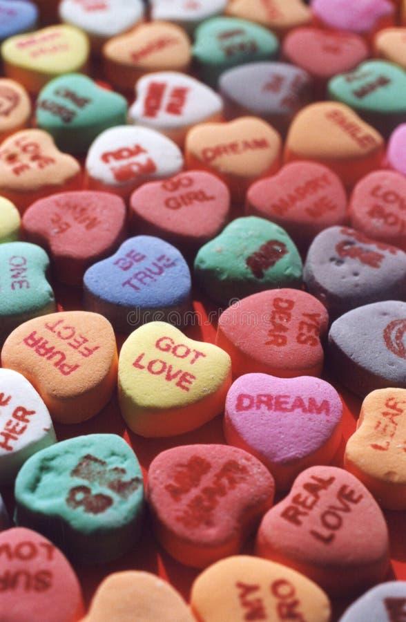 Free Candy Hearts Royalty Free Stock Photo - 5818265